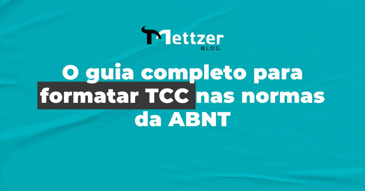 Capa - formatar TCC
