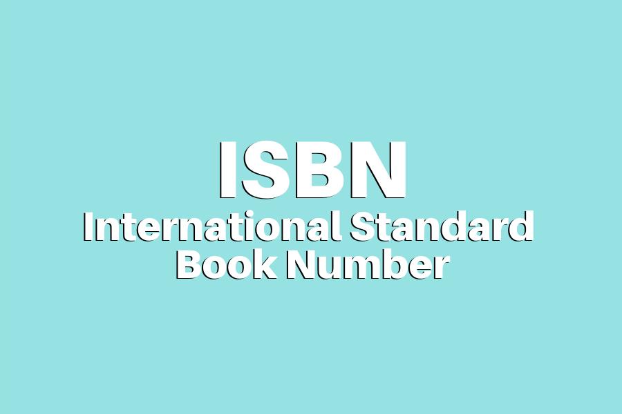 ISBN - O identificador numérico internacional de livros