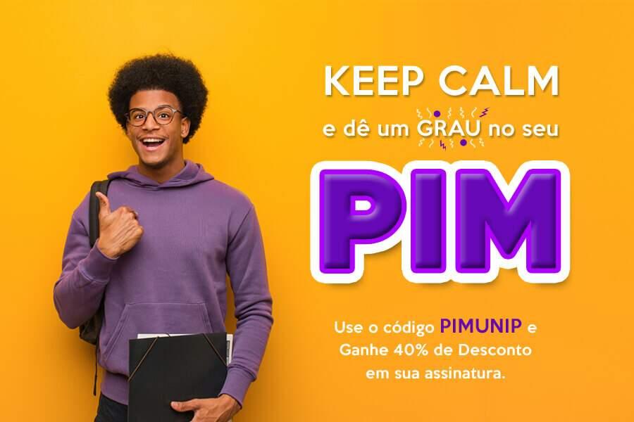 Formatação do PIM UNIP: Mettzer lança modelo exclusivo