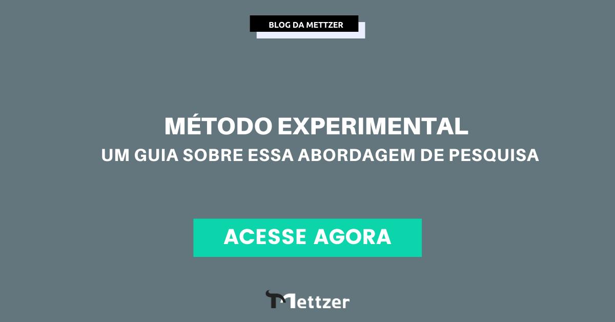 Capa - método experimental