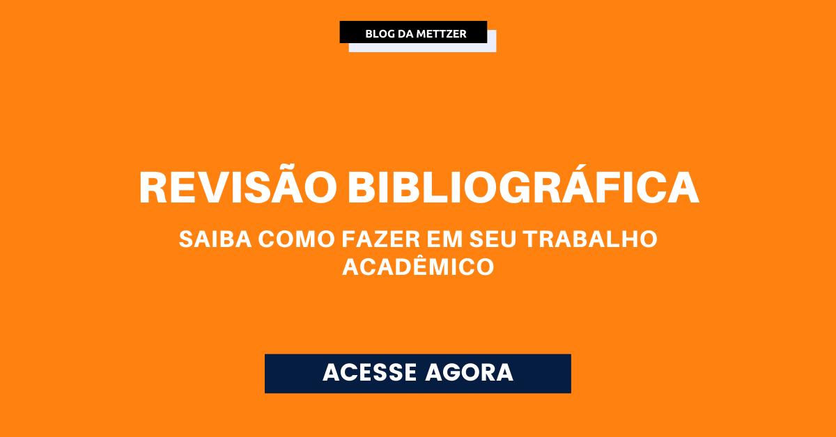 Capa - revisão bibliográfica