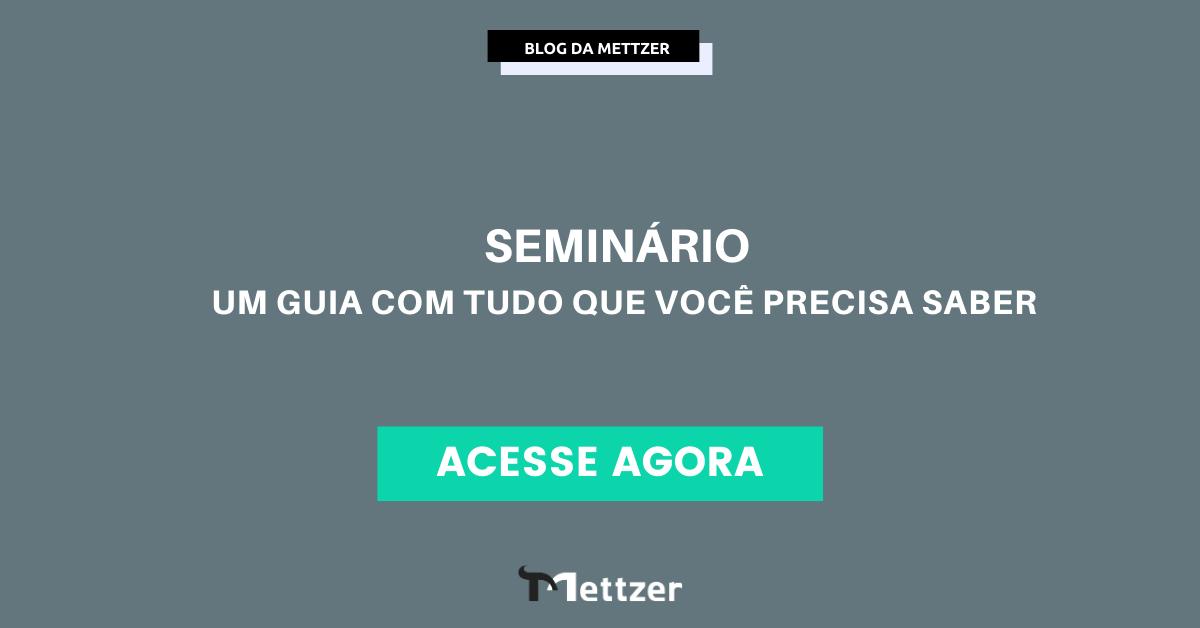 Capa - seminário